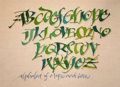 Creative Community Resource: Calligraphy Workshop Marathon!