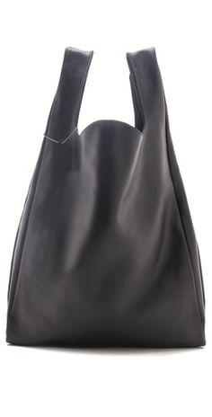 MM6 Maison Martin Margiela Leather Shopper  leather  handbag  black  code +  form 0f88dc71ea6fc