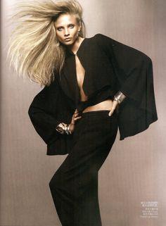 Revolutionary Blazer | Anna Selezneva | Solve Sundsbo #photography | Vogue China March 2010. AMAZE!!! #FIDM