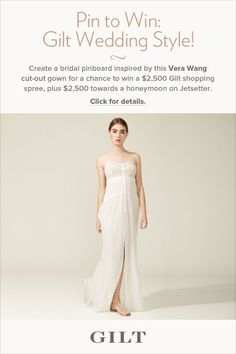 hmm... an ideal airy wedding gown