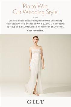 hmm... an ideal airy wedding gown
