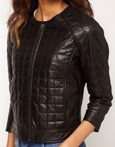Asos Square Quilted Bomber $142