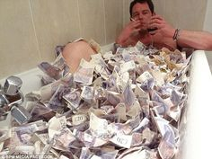 pile of 50 pound notes - Google Search