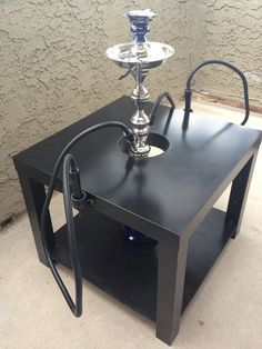 for you Blairsville folks?  Hack Hookah Stabilizer Table by WolfEyesArt on Etsy, $49.99