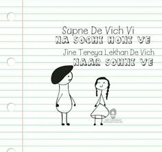 Share Best Whatsapp Status One Line In Punjabi To Your Love Boy Punjabi Comment Quotes