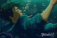How can the son of Poseidon... drown? - vvivaa