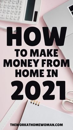 Looking for easy ways to make extra money from home? Then check out this list of legitimate money-making ideas! There are 17 quick and simple ways you make make money from home! #online #moms #extracash #jobs #2021 Cash From Home, Earn Money From Home, Way To Make Money, Legitimate Online Jobs, Best Online Jobs, Legit Work From Home, Work From Home Jobs, Earn Extra Cash, Extra Money