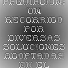 Paginación: un recorrido por diversas soluciones adoptadas en el diseño de sitios web   Microsiervos (Internet)