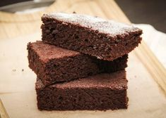 Sweet chocolate without butter without sugar - ccake Thermomix Chocolate Cake, Thermomix Desserts, Cake Chocolate, Fish Recipes, Cake Recipes, Chocolate Powder, Cake Toppers, Food And Drink, Baking