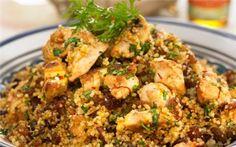 Μαροκινό κοτόπουλο με κους-κους