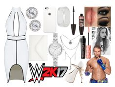 """Jessie - 2K17 Launch Party"" by makhinegankaller14 ❤ liked on Polyvore featuring ZiGiny, Rimmel, Benefit, Maybelline, INC International Concepts, Kate Spade, Neiman Marcus, WWE and wweoc"