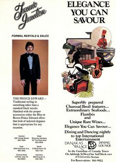 Quite possibly the worst decision of his life. (Funny bad retro tuxedo ads)
