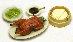Peking Duck, with pancakes, hoisin sauce, scallions: Kiva Atkinson, via The Mini Food Blog