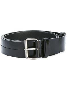 ANN DEMEULEMEESTER slit to wide panel belt. #anndemeulemeester #belt