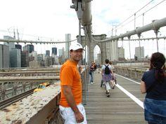 Puente de Brooklyn. Vista hacia Manhattan.