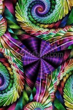 Fractal Spirals --- Fractal Photography