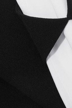 Cushnie et Ochs - Two-tone Crepe Jumpsuit - Black - US6