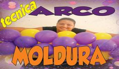 Como fazer Arco de balões Moldura