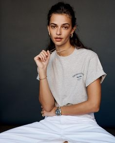 """Sporty & Rich on Instagram: """"@end_clothing exclusive capsule. Online 3/22."""" Emily Oberg, Capsule Outfits, Sport Fashion, Summer Time, Sporty, Model, Shopping, Clothes, Collection"""