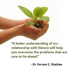 Love Dr. Shaklee's quotes!