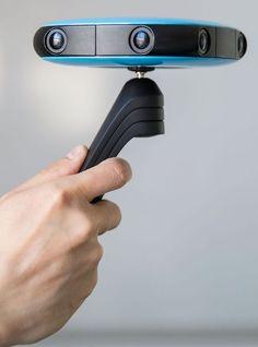 The Vuze 360-degree camera