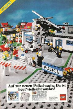 Vintage Toy Advertisements of the (Page Legoland, Lego Police, Classic Lego, Toy Catalogs, Lego Construction, Vintage Lego, Lego Projects, Building Toys, School Fun