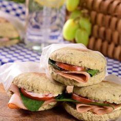 Oats Recipes, Bread Recipes, Real Food Recipes, Diet Recipes, Healthy Recipes, Healthy Food, Recipies, Burger Bread, Brunch