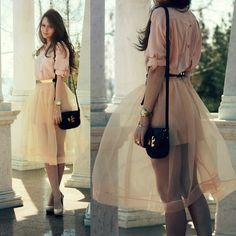 Chic Wish Skirt, Chic Wish Shirt
