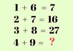 Math logic for genius people