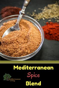 Mediterranean Diet Not only does this Mediterranean spice blend work in salads like our Chickpea Salad with Citrus Vinaigrette, it is also an amazing dry rub for meat and fish. Mediterranean Seasoning, Mediterranean Spices, Mediterranean Diet Recipes, Homemade Spice Blends, Homemade Spices, Homemade Seasonings, Spice Rub, Spice Mixes, Dry Rub Recipes