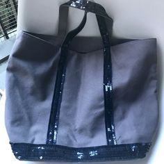 4bb8380d5d4 Vanessa Bruno Sequinted Blue tote bag  fashion  clothing  shoes   accessories  womensbagshandbags