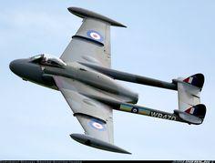 De Havilland (FW Emmen) Venom FB50 (DH-112) aircraft picture Ww2 Aircraft, Aircraft Pictures, Fighter Aircraft, Fighter Jets, Military Jets, Military Aircraft, Commonwealth, De Havilland Vampire, War Jet