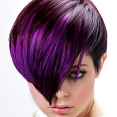 I do believe...it's about time for some more purple in my hair...i cannot stand the same ol' thing i love change and me and tab love my hair long and short and we DK what to do...and i have to say i loved the purple before!