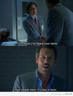 Hugh Laurie can make being a loveable jackass almost seem like a worthy goal.