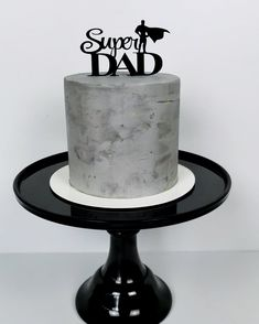 Baby Girl Birthday Cake, Candy Birthday Cakes, Crazy Cakes, Cakes For Women, Cakes For Boys, Concrete Cake, Cake Design For Men, Bts Cake, Cake Stand Decor