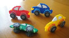 Cars toys hama beads by junko