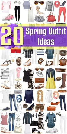 Spring Fashion - 20 Outfits to Wear in Spring 2015 Discover and shop the latest women fashion, celebrity, street style you love on https://www.zkkoo.com