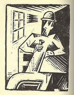 Josef Čapek was a Czech artist who was best known as a painter, but who was also noted as a writer and a poet. Writers And Poets, Art Icon, Wood Engraving, Cubism, Artist Art, Printmaking, Childrens Books, Modern Art, Cool Art
