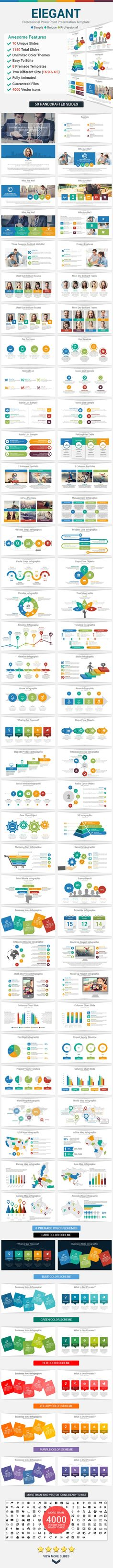Data Charts  Powerpoint Presentation Template  More Data Charts