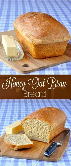 Honey Oat Bran Bread – an updated recipe for a delicious home-made bread, lightly sweetened with honey and with the wholesome flavour of oats; makes a terrific sandwich loaf. Recipe here