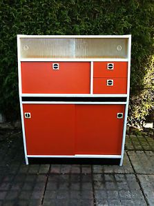 1960's kitchen cabinet vintage retro furniture classic home style chic Kitch | eBay