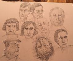 Pencil, Watercolor, Pictures