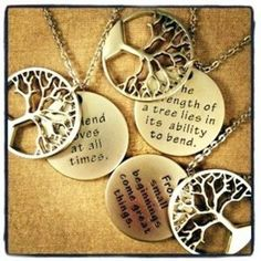 Serenity Tree of Life Necklaces