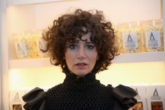 Miranda July Photos Photos - Miranda July attends 'The Realest Real' A Film by Carrie Brownstein presented by KENZO at The Metrograph on September 2016 in New York City. - KENZO Presents 'The Realest Real' a Film by Carrie Brownstein Curly Hair With Bangs, Curly Hair Cuts, Short Hair Cuts, Curly Hair Styles, Miranda July, Italian Hair, Black Curls, Short Curly Haircuts, Short Curly Hair