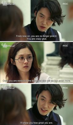 Fated to Love You (haven't watched, but this quote makes me want to)