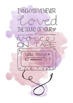 Little Things-Harry's solo
