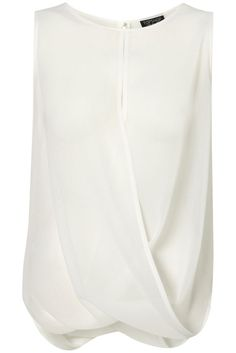 Topshop drape front blouse - how is it constructed?