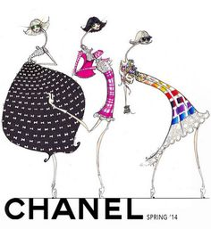 Chanel Illustration