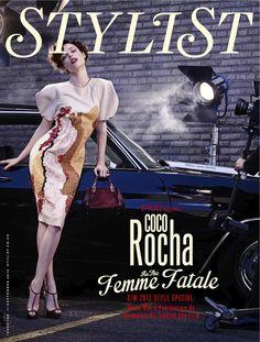Stylist Magazine (UK) - Stylist Magazine UK September 11, 2013 Cover: Coco Rocha, Fashion Special Cover