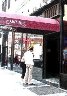 Carmine's... Love their family style!